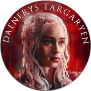 USA GAME OF THRONES II - DAENERYS TARGARYEN GOT American Silver Eagle 2019 Walking Liberty $1 Silver coin 1 oz